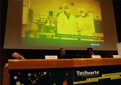 TechneArt is art and technology conference. This year it is in Balboa Spain. It's Eurpean, it supports technology and Art,...