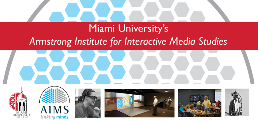 Our Miami University's Armstrong Institute is seeking candidates for a lecturer position in interactive media studies to be screened February...