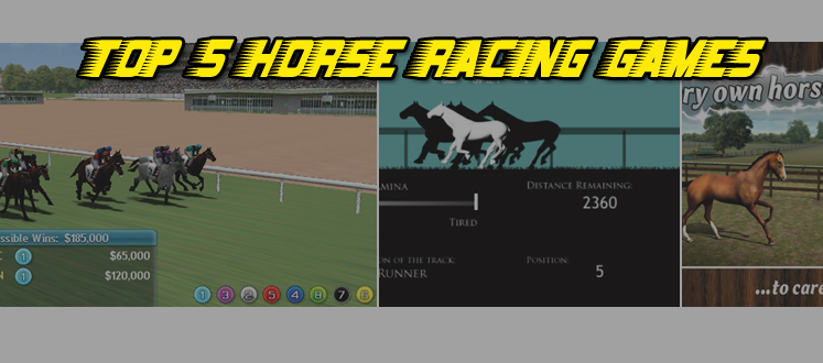 A new project has had me playing horse racing games on the iPhone and iPad.  In case you ever wanted to know what the top 5 Horse Racing Games for mobile are, here&#039;s our list. If you can&#039;t make it to the track, you might want to try these instead
